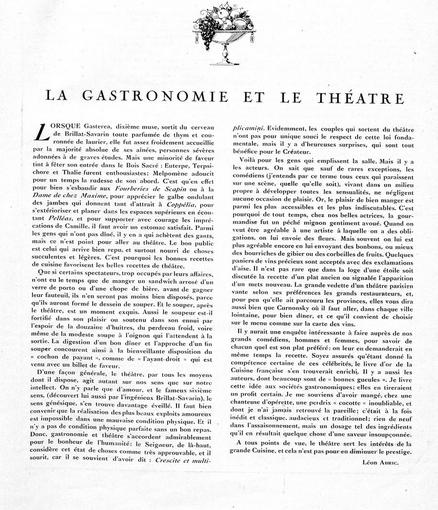 gastronomie-et-theatre